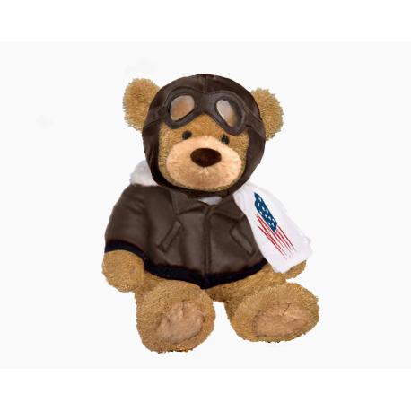 Aviator Bear(Sitting Version)