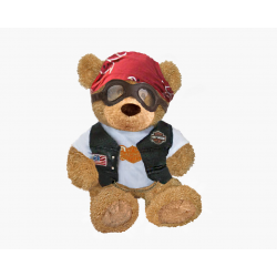 Biker Bear(Sitting Version)