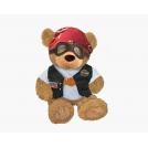 Biker Bear(Sitting Version)