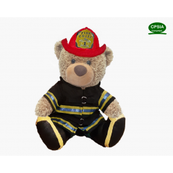Fireman Bear (Sitting Version)