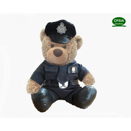 Police Bear(Sitting Version)--in sotck