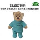 Health Care Hero Surgeon Bear