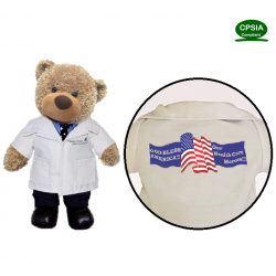 Health Care Hero Doctor Bear