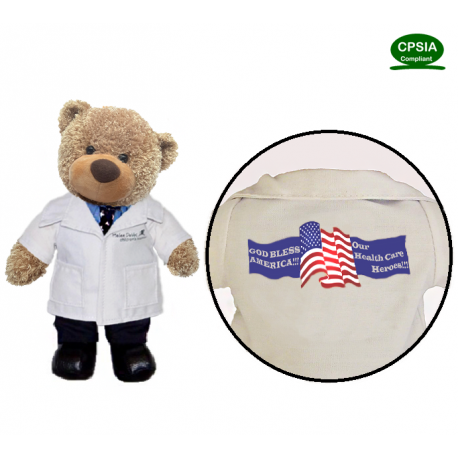 Health Care Hero Doctor Bear(in stock)