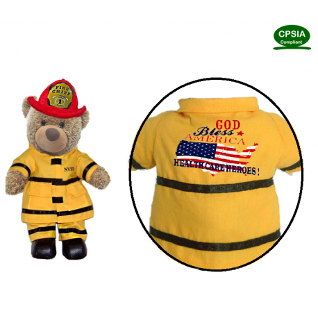 Health Care Heroes American Fireman Bear(in stock)