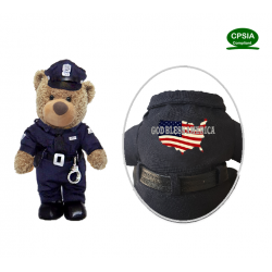 Health Care Heros American Police Bear