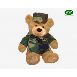 Army Bear(Sitting Version)--in stock