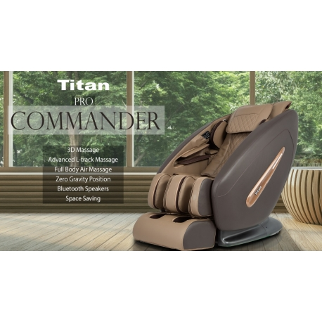OSAKI-TITAN Pro Commander(in stock),  Full body Massage Chair